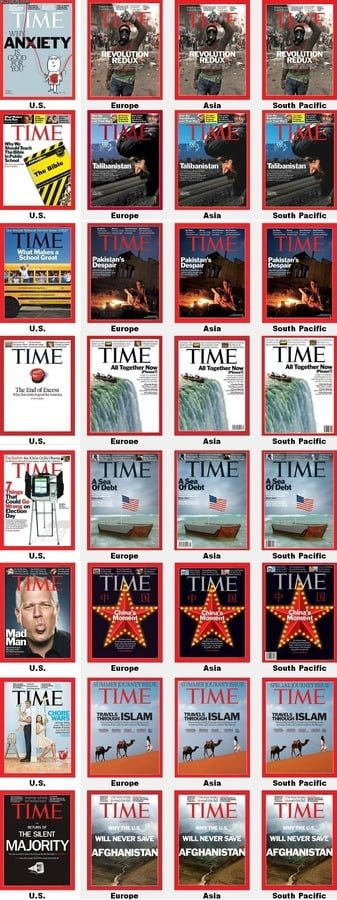 TIME 図解・グラフ・一覧・比較の画像とか