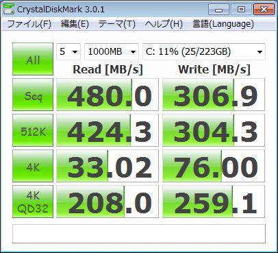 Core i7 2600k Verbatim 240GB AHCI