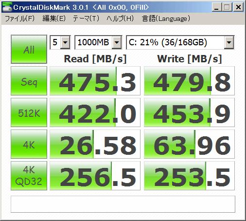 Core i7 2600K Intel520 180GB AHCI All0x00