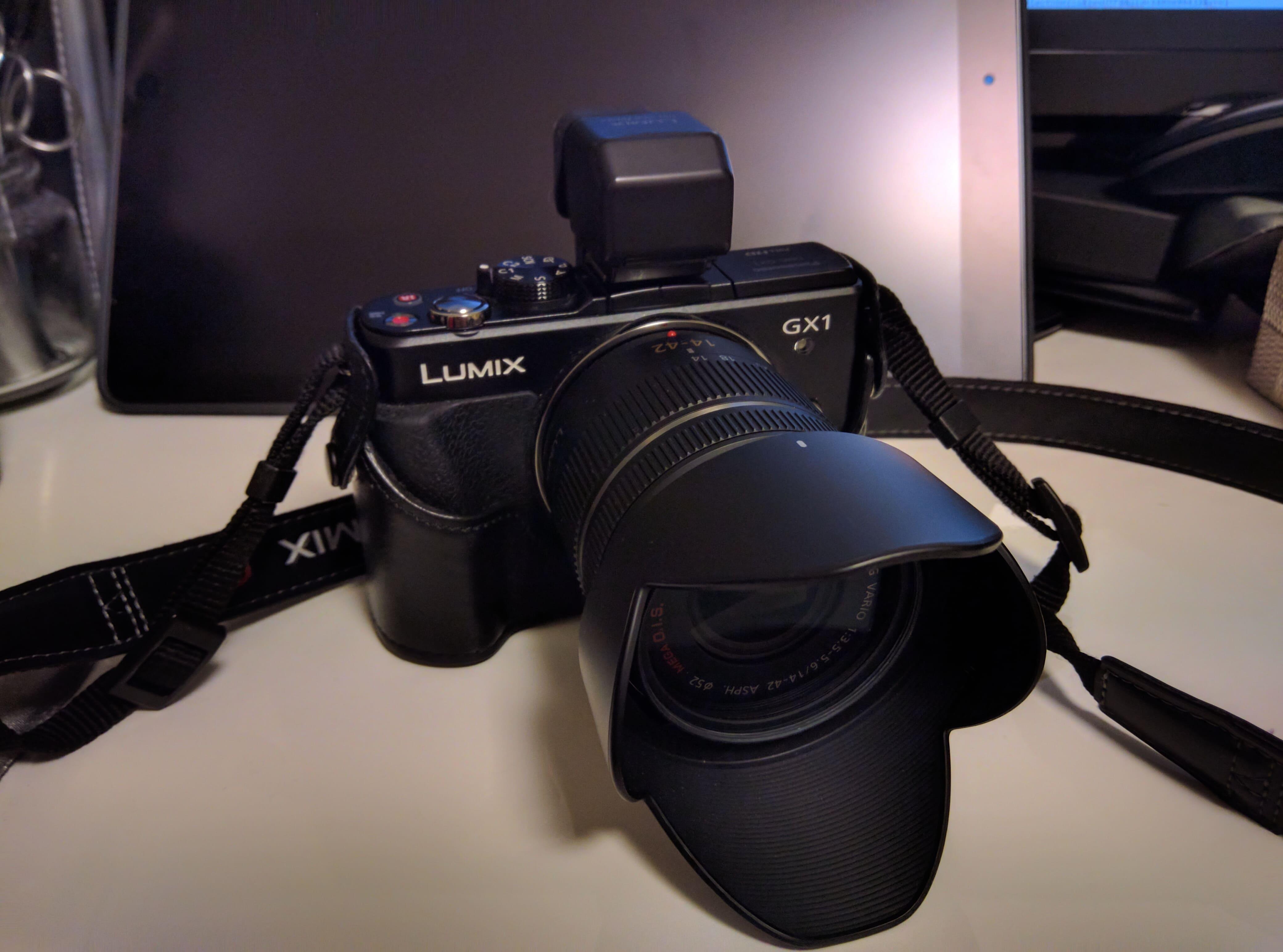 ミラーレスカメラをゲットしました。
