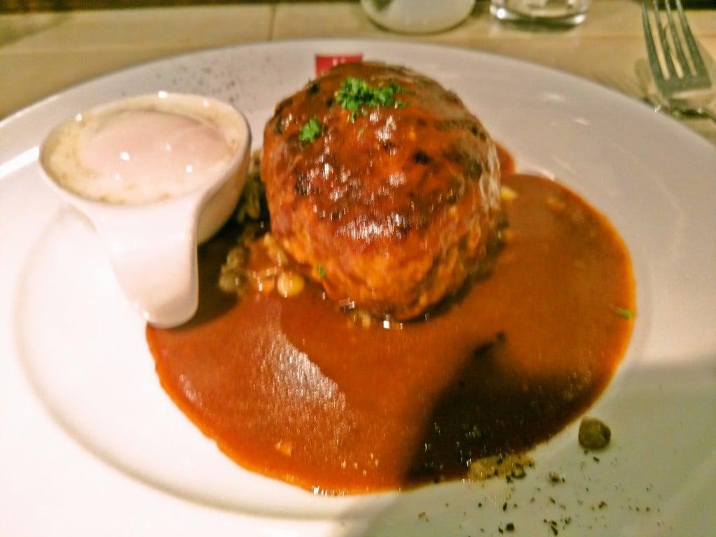 豚肉100%のジューシーで美味しいハンバーグ ~ 新宿御苑 ハンバーグ ウィル