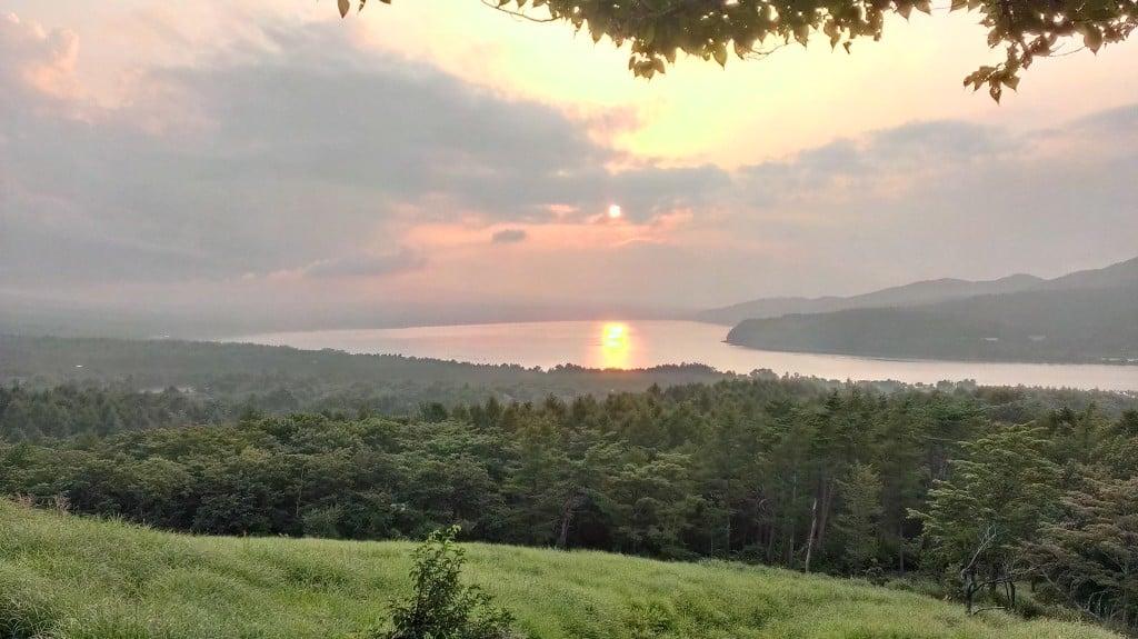 山中湖のパノラマ台