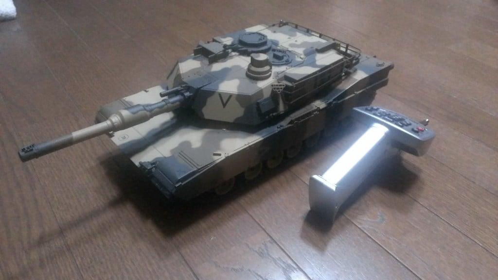東京マルイのラジコン戦車