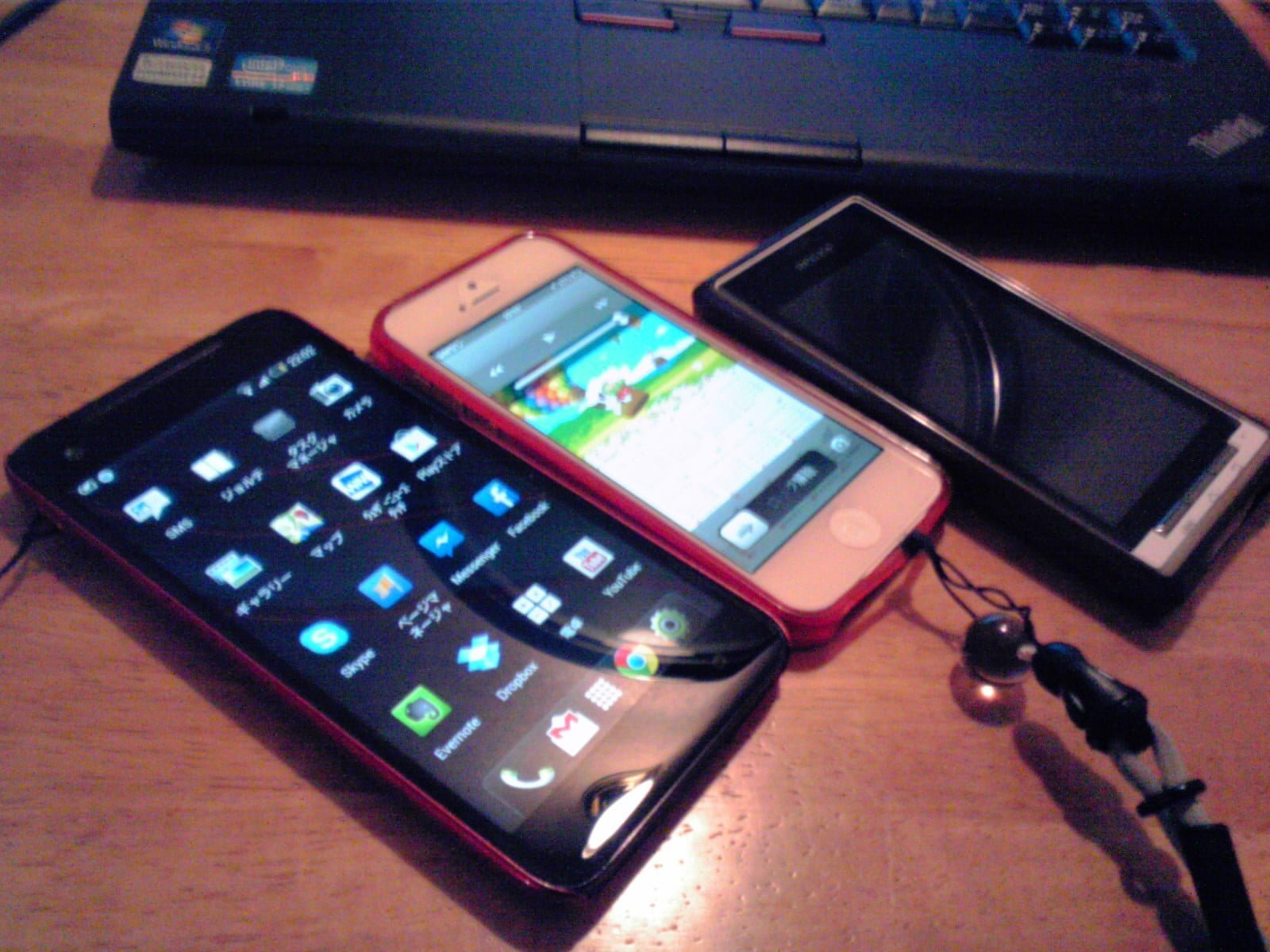 iPhone5 & HTC J Butterfly
