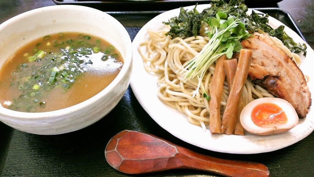 栃木県北部では美味しいつけ麺 ~ 竹風 那須塩原店