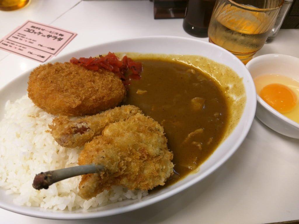 気軽に食べられるシンプルな昭和レトロカレー ~ 池袋 カレーの家