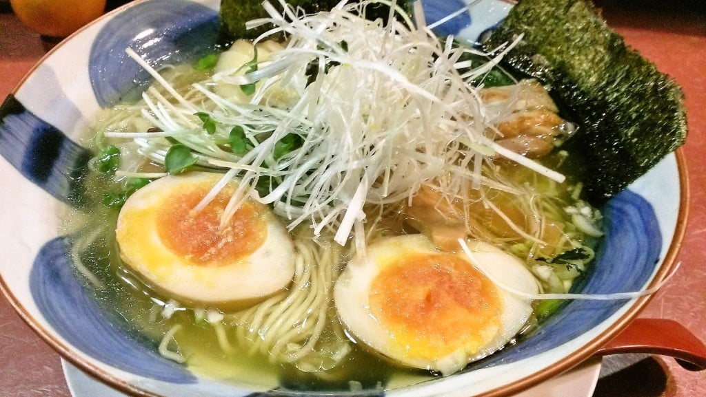 結構有名な無化調ラーメン ~ 湯島 大喜
