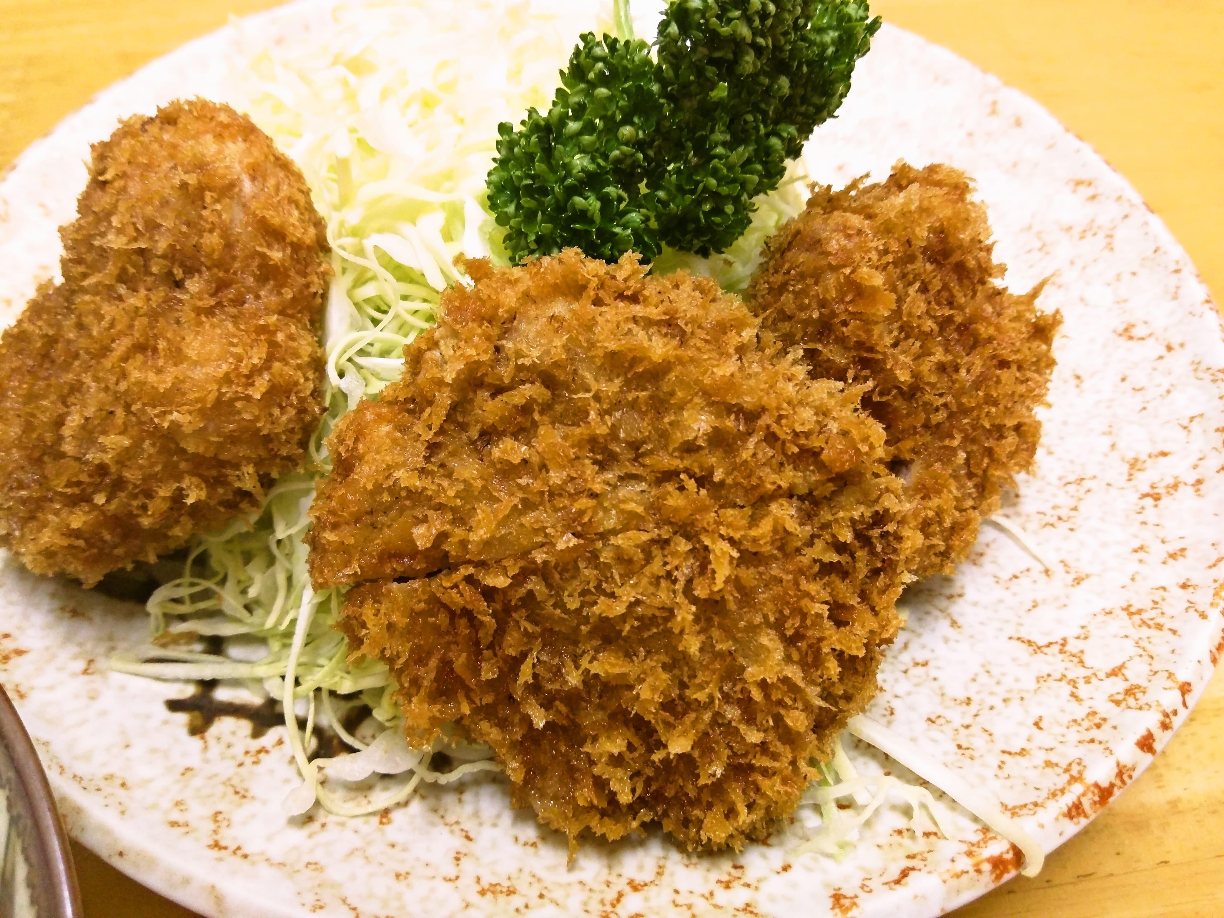 地元に愛される美味しいトンカツ ~ 大田区池上 とんかつ燕楽