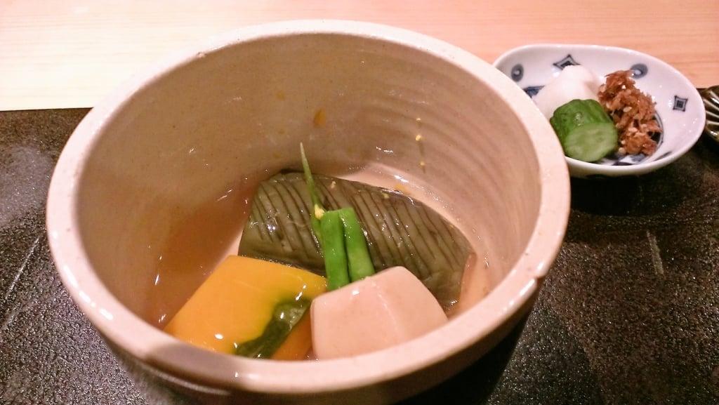 コスパの良い美味しい日本食 ~ 銀座 ぎんざ 一二岐