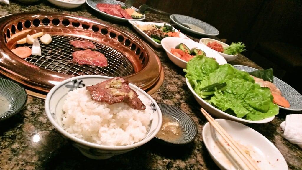 焼肉でお腹いっぱいに ~ 焼肉レストランはんがん 西那須野店