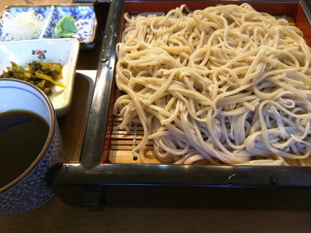 わりとしっかりとした蕎麦と鉄火丼 ~ 田端 開高庵