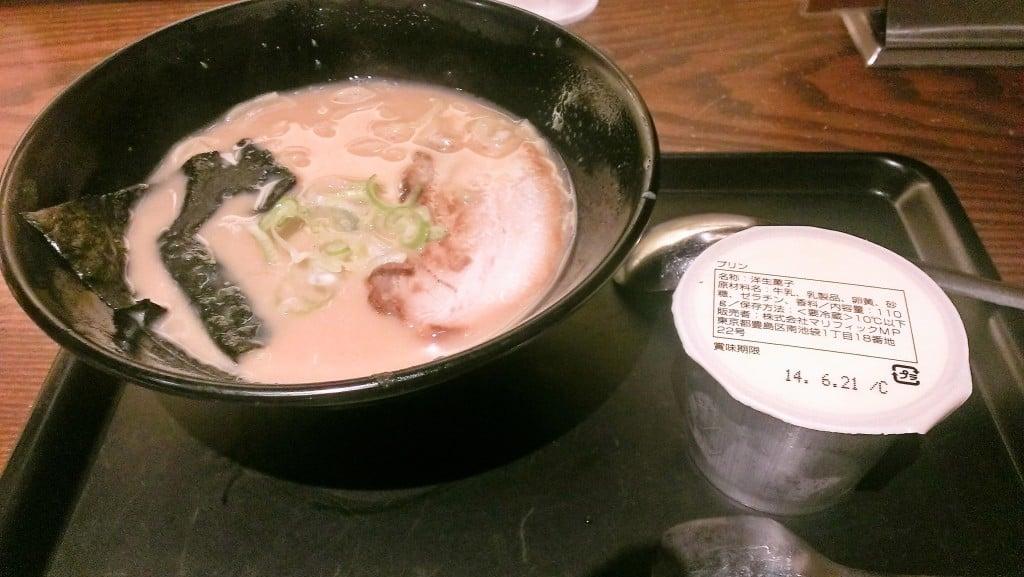 朝までやってる有名ラーメン 光麺 上野店