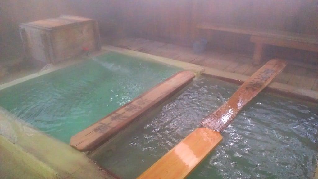 草津温泉 千代の湯 湯畑源泉