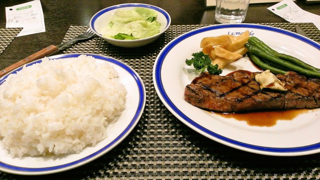 オトクなステーキ ~ 新宿 ル・モンド