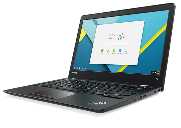 Chromebookを導入しました / Lenovo Thinkpad 13