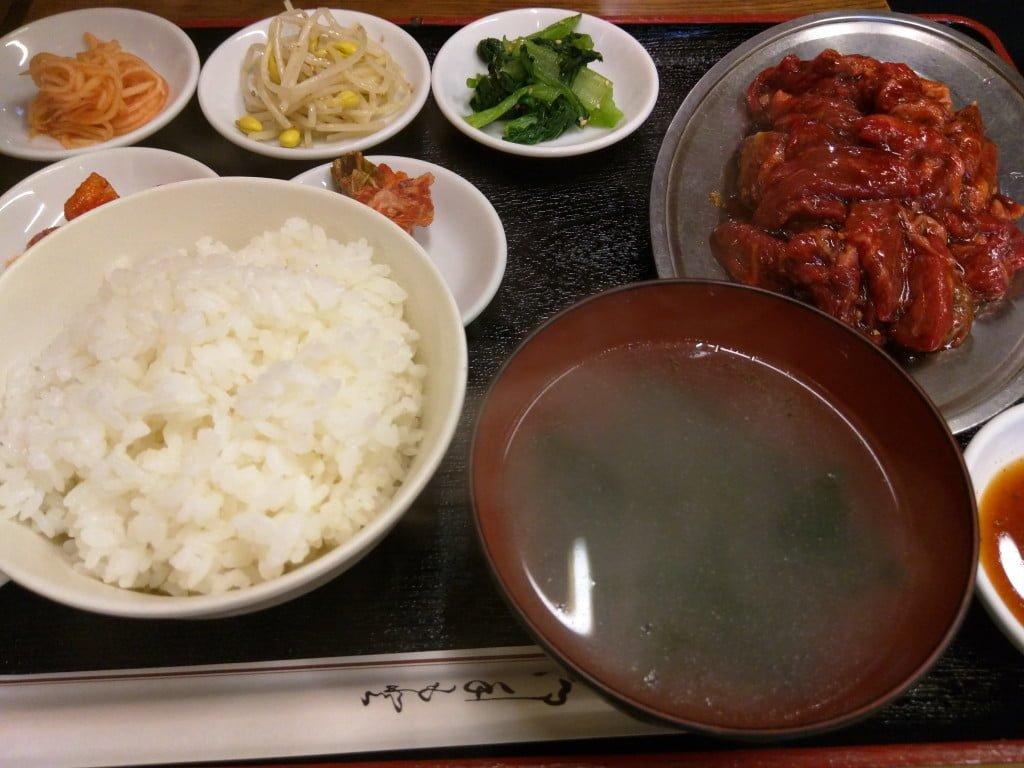 東上野のコリアンタウンの焼肉ランチ ~ 上野 馬山館