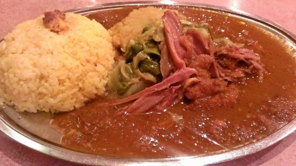日本最古のインド料理で夜のランチ ~ 東銀座 ナイルレストラン