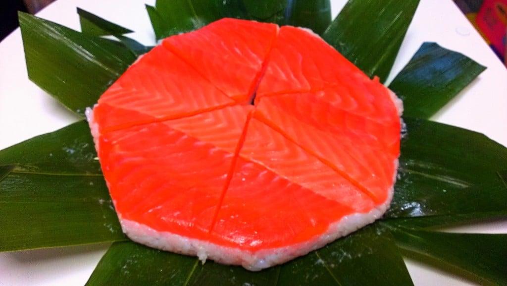 最上クラスのますの寿司 〜 富山 扇一 ます寿し本舗