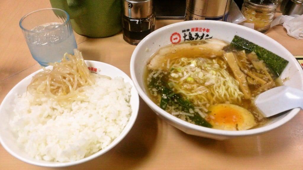 飲んだ後に食べると良いラーメン ~ 湯島 大島ラーメン