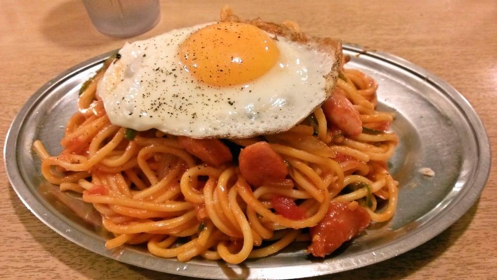 懐かしさ満点のB級グルメ ~ 御徒町 スパゲッティ専門店パンチョ