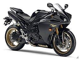 Yamaha YZF-R1(写真は2010年モデル。色も違う。)
