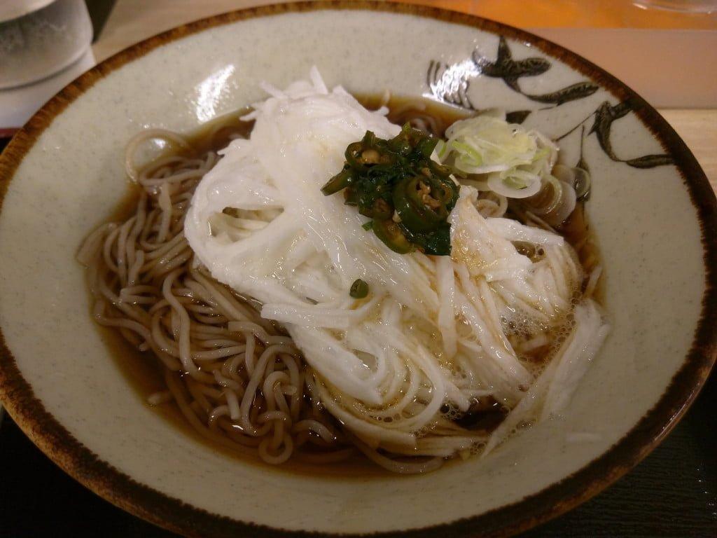 無化調のダシが美味しいファストフードなお蕎麦 ~ 京橋 そばよし