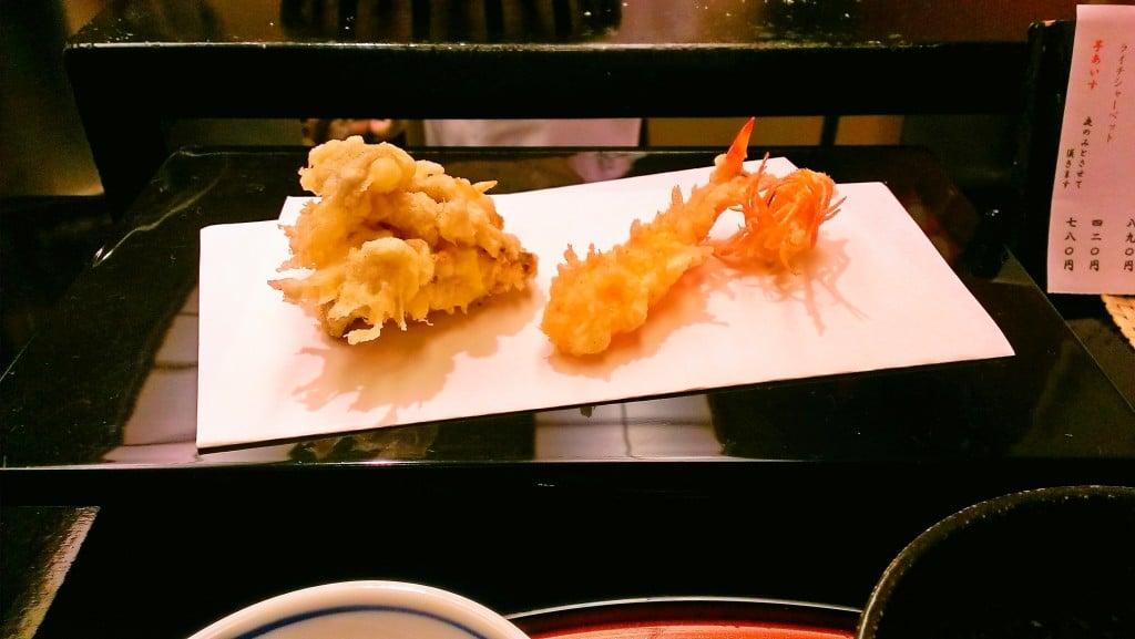 コスパの良い揚げたて天ぷら ~ 茅場町 天ぷらすず航