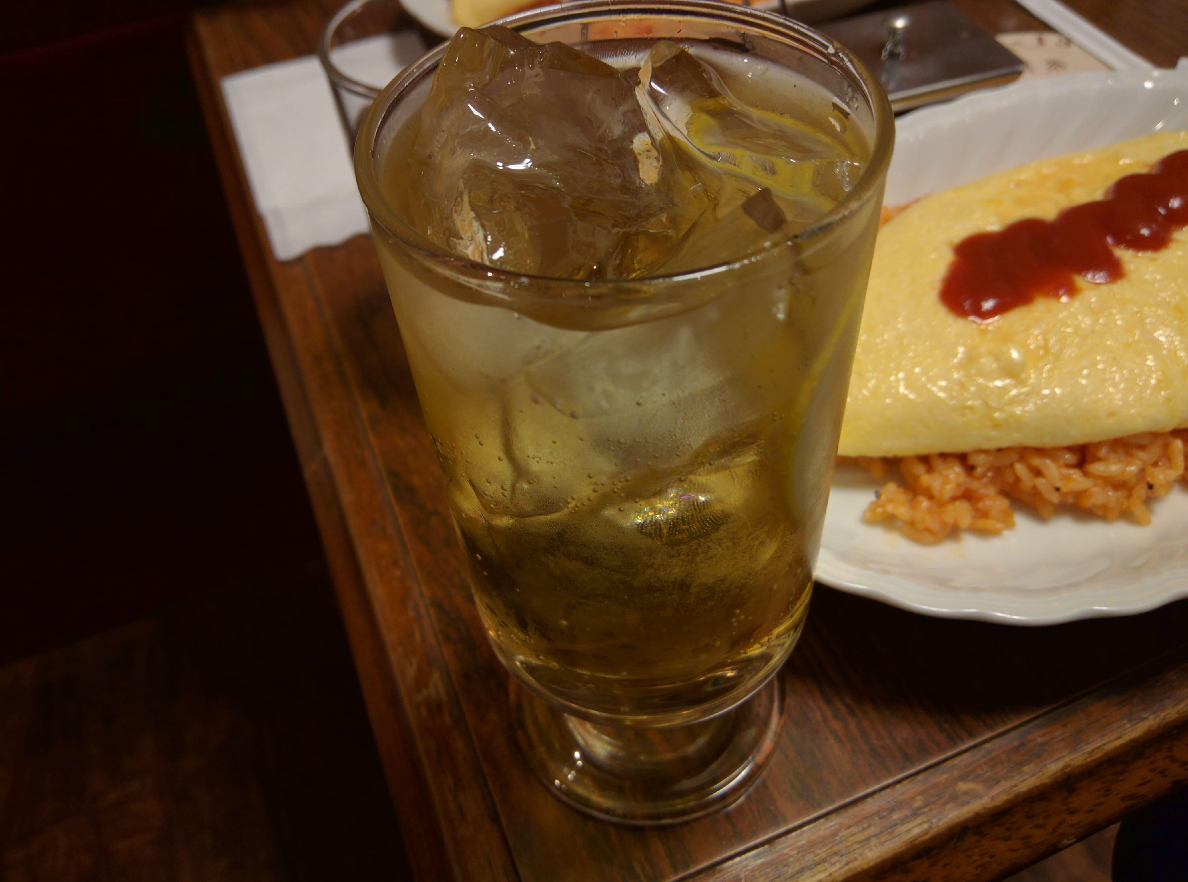 喫茶店のふわとろオムライス ~ 東銀座 YOU