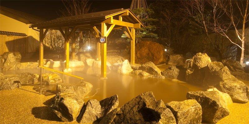 天然温泉 湯めごこち